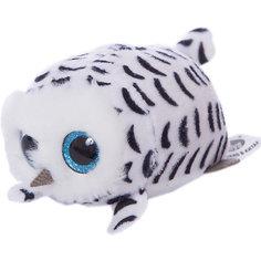Мягкая игрушка Abtoys Совенок белый, 10 см