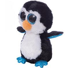 Мягкая игрушка Abtoys Пингвин черный, 15 см