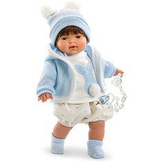 """Кукла Llorens """"Карлос"""" 33 см со звуком"""