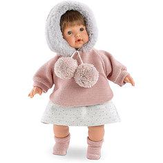 "Кукла Llorens ""Айсель"" 33 см со звуком"