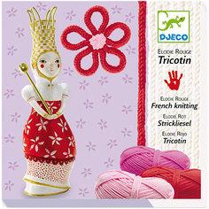 Набор для вязания (красный) Djeco