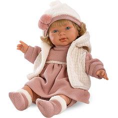 "Кукла Llorens ""Марина"", 42 см со звуком"