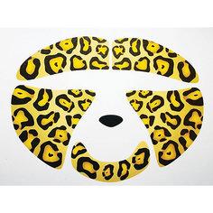"Стикер для лица Partymania ""Животное"", Леопард"