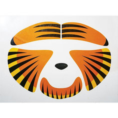 "Стикер для лица Partymania ""Животное"", Тигр"