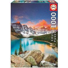"""Пазл Educa 1000 деталей  """"Озеро Морейн. Национальный парк Банф. Канада"""""""