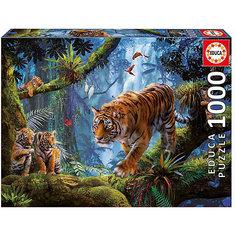 "Пазл Educa 1000 деталей ""Тигры на дереве"""