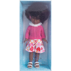 """Классическая кукла Vestida de Azul """"Весна Нью-Йорк"""" Паулина африканка, 33 см"""