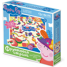 Свинка Пеппа.Наст.игра.поле-пазл+Пазл20Эл.Фруктовая страна.01585 Origami