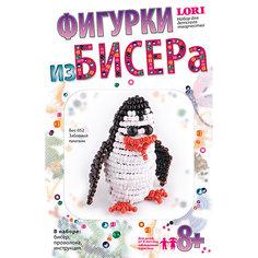 Фигурки из бисера Забавный пингвин Lori