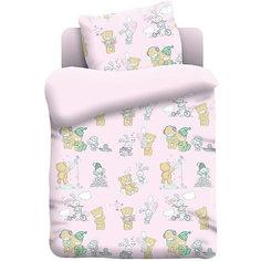 Детское постельное белье 3 предмета  Непоседа, Тедди (поплин)