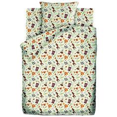 Детское постельное белье 1,5 сп. Кошки-Мышки (70х70см) Маленькие зверушки