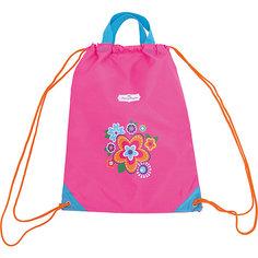 """Мешок-рюкзак с ручками """"Цветы"""" 30*40 см. Mary Poppins"""