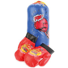 Набор для бокса Играем вместе (груша+перчатки)