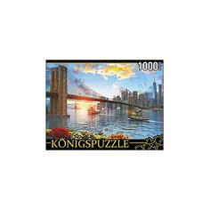 "Пазл Konigspuzzle ""Бруклинский мост"" 1000 элементов"