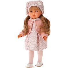 """Кукла Munecas Antonio Juan """"Амалия"""" в розовом, 45 см"""