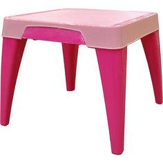 """Детский стол """"Я расту"""", Little Angel, розовый"""