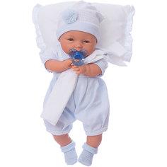 """Кукла """"Габи"""" в голубом, 37 см, Munecas Antonio Juan"""