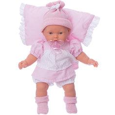 """Кукла """"Ланита"""" на розовой подушк, 27 см, Munecas Antonio Juan"""