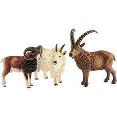 """Коллекционный набор фигурок Schleich """"Дикие животные"""" Животные гор"""