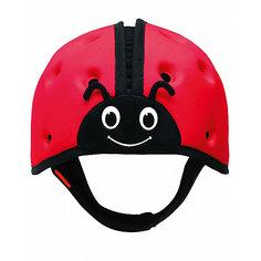 "Мягкая шапка-шлем для защиты головы  SafeheadBABY ""Божья коровка"", красный"