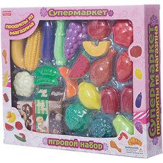 """Игровой набор Zhorya """"Супермаркет"""", Овощи и фрукты"""