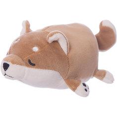 Мягкая игрушка ABtoys Собачка коричневая, 13 см