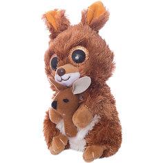 Мягкая игрушка Teddy Кенгуренок коричневый,15 см