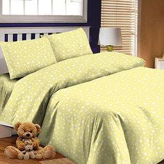 Детское постельное белье 3 предмета Letto, простыня на резинке, BGR-57