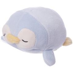 Мягкая игрушка ABtoys Пингвин светло-голубой, 13 см