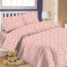Детское постельное белье 3 предмета Letto, BG-63