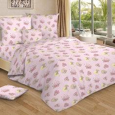 Детское постельное белье 1,5 сп. Letto,Мими, розовый