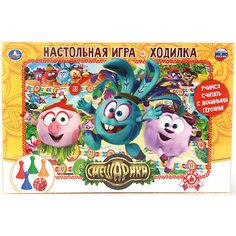 """Настольная игра-ходилка Умка """"Смешарики"""""""