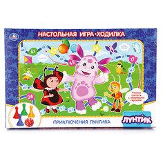 "Настольная игра-ходилка Умка ""Лунтик"""
