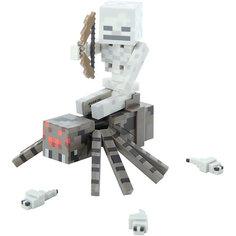Фигурка Скелет с Пауком, 8 см, Minecraft Jazwares