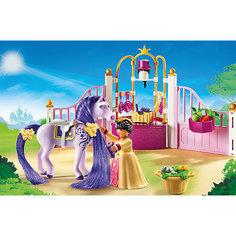 """Конструктор Playmobil """"Замок Принцессы"""" Королевская конюшня"""