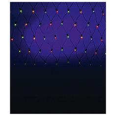 Электрическая гирлянда сетка , 320  ламп, цветная Батик