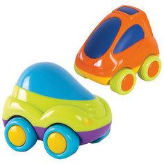 Машинки  HAP-P-KID 2 штки в упаковке: зеленая+оранжевая