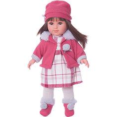Классическая кукла Llorens Елена в клетчатом платье, 35 см