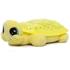 """Мягкая игрушка-ночник Мульти-Пульти """"Черепаха"""" 30 см, желтая"""