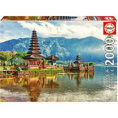 "Пазл Educa 2000 деталей  ""Храм Улун Дану Улувату, Индонезия"