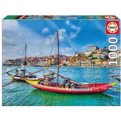 "Пазл Educa 1000 деталей  ""Лодки Рабелос. Португалия"""