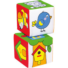 "Кубик ""Чей домик?"", Мякиши"