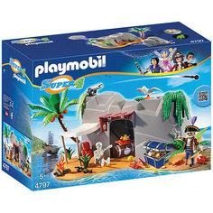 "Конструктор Playmobil ""Супер 4"" Пещера Пирата"