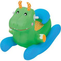 Игрушка-качалка надувная, Bestway, зеленая