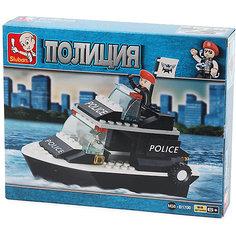 """Конструктор """"Полиция: Катер"""", 98 деталей, Sluban"""