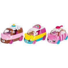 "Игровой набор Moose ""Cutie Car"" Три машинки с мини-фигурками Shopkins, Bumper Bakery"