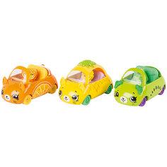 "Игровой набор Moose ""Cutie Car"" Три машинки с мини-фигурками Shopkins, Fast and Fruity"