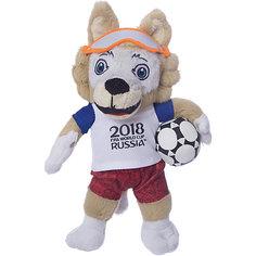Мягкая игрушка FIFA-2018 1Toy Волк Забивака, 21 см