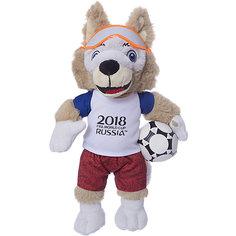 Мягкая игрушка FIFA-2018 1Toy Волк Забивака, 33 см