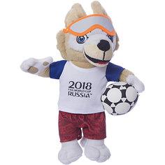 Мягкая игрушка FIFA-2018 1Toy Волк Забивака, 28 см